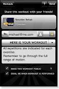 Sending Workout