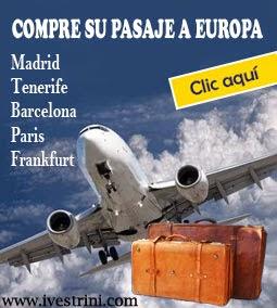 Pasajes a Europa