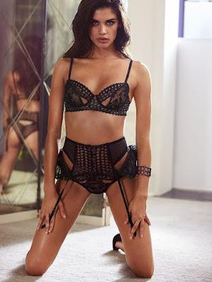 Sara Sampaio hot Victoria's Secret sexy lingerie models photoshoot