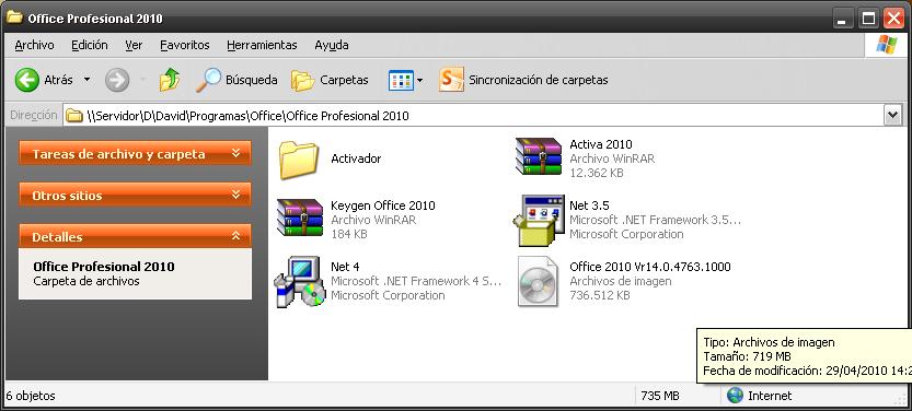 descargar microsoft office 2010 gratis en espanol completo con activador