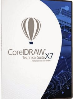 CorelDRAW Technical Suite X7 17 Crack+key