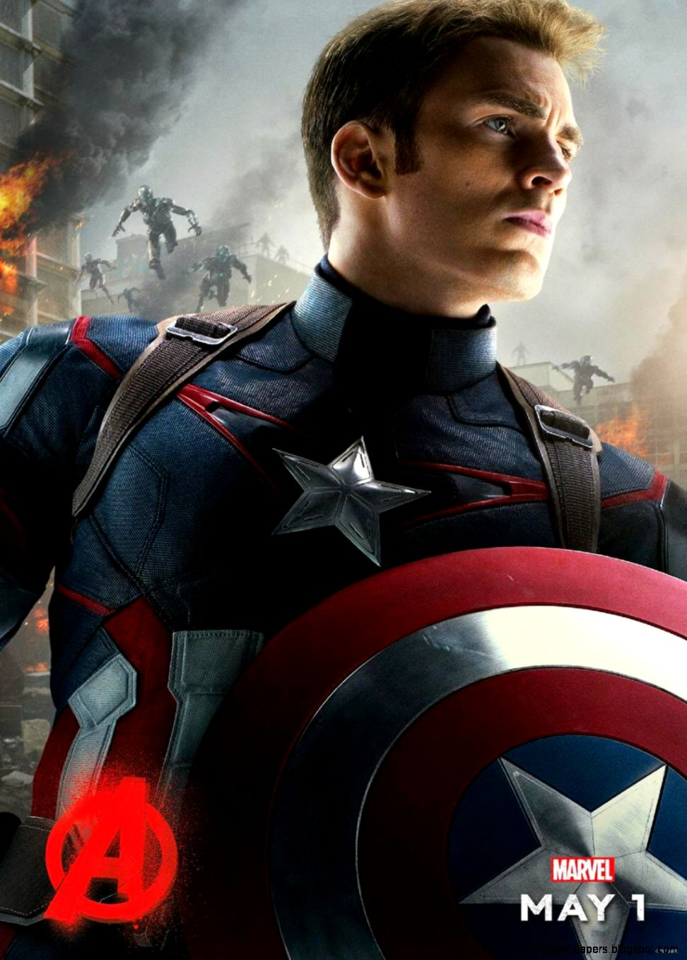 The Avengers Captain America Iphone Wallpaper