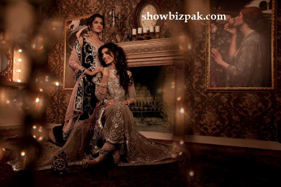 Pakistani showbiz maria b bridal fashion 2011