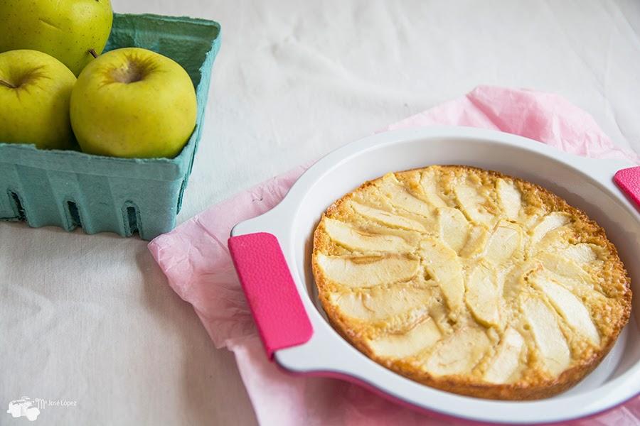 Como preparar una rica tarta de manzana