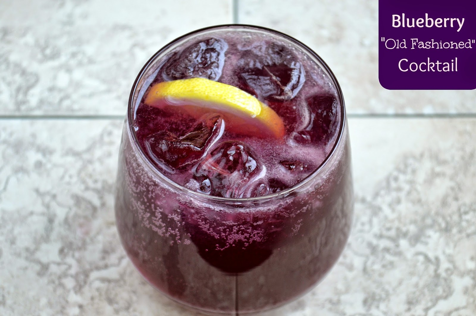 Blueberry Whiskey Cocktail