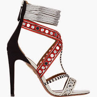 AmberAlert123's Top Pick: Aquazzura 'The Queen' Sandals