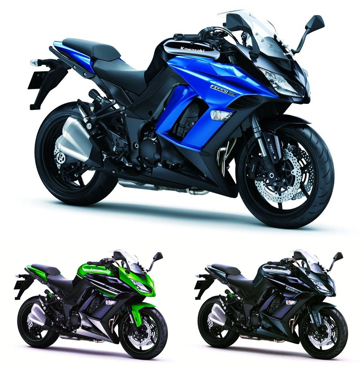 Sports Cycle: New Tech and New Colours for Kawasaki Z1000SX