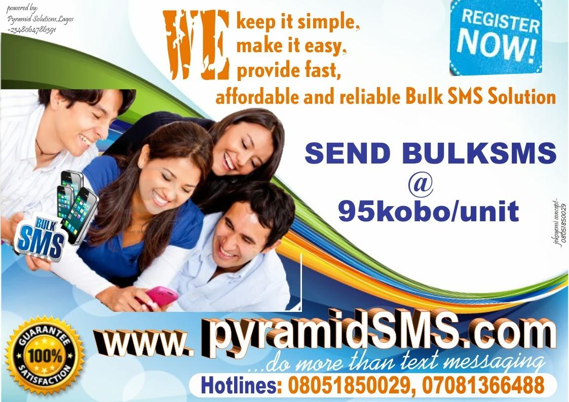 how to send sms through website