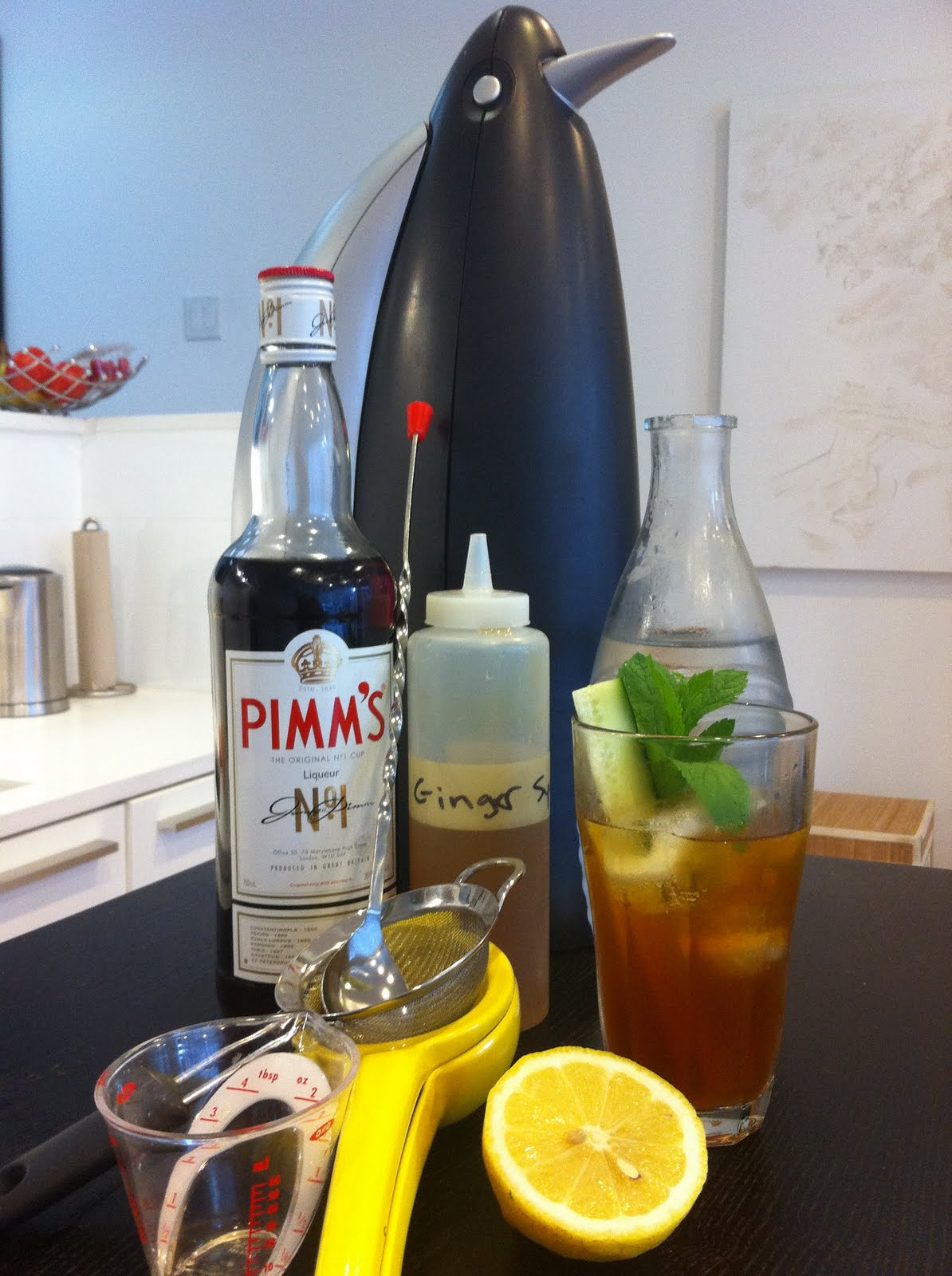 DIY Pimm's Recipe — Dishmaps