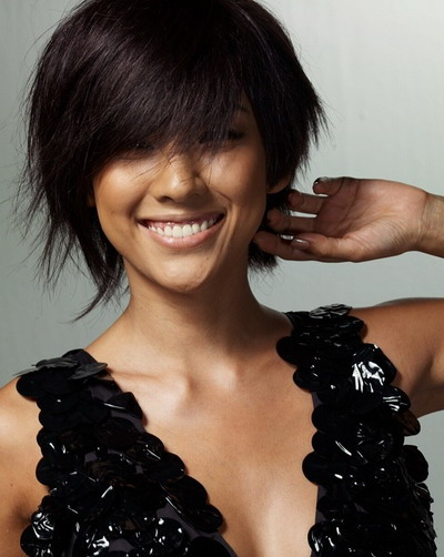 Short Asian hairstyle - Short Asian haircuts