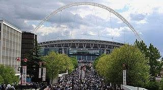 Three Lions Ogah Tanding di Wembley