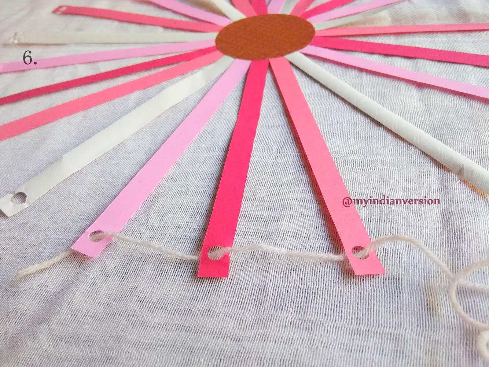 Diy Paper Lanterns My Indian Version Diy How To Make Paper Lantern Photo Tutorial
