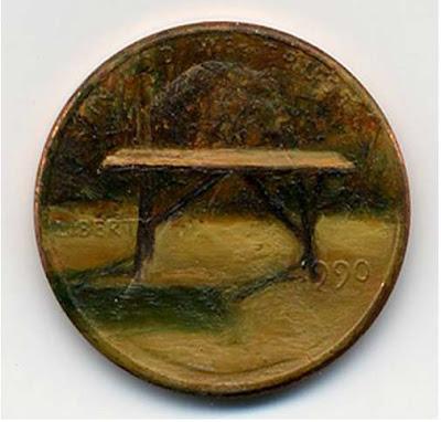 لوحات زيتية دقيقة ومدهشة على العملات المعدنية الصغيرة  167346_3_600