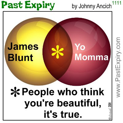 [CARTOON] James Blunt. cartoon, music, celebrity, Venn, women, relationships,