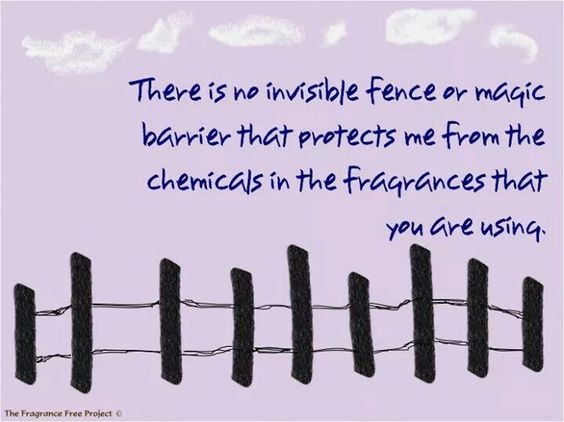 There is no invisible fence or magic barrier that protects me