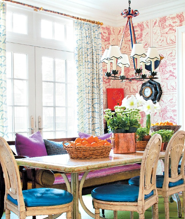 TG interiors Mixing Patterns in Decor