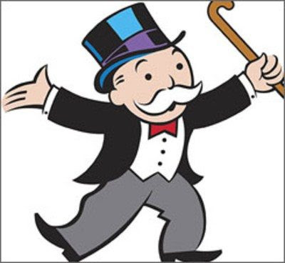 Monopoly banker
