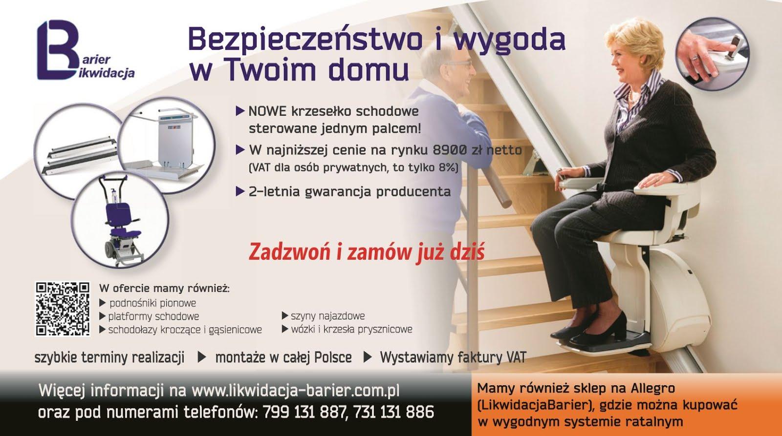 Krzesełko schodowe to bezpieczeństwo i wygoda w Twoim domu