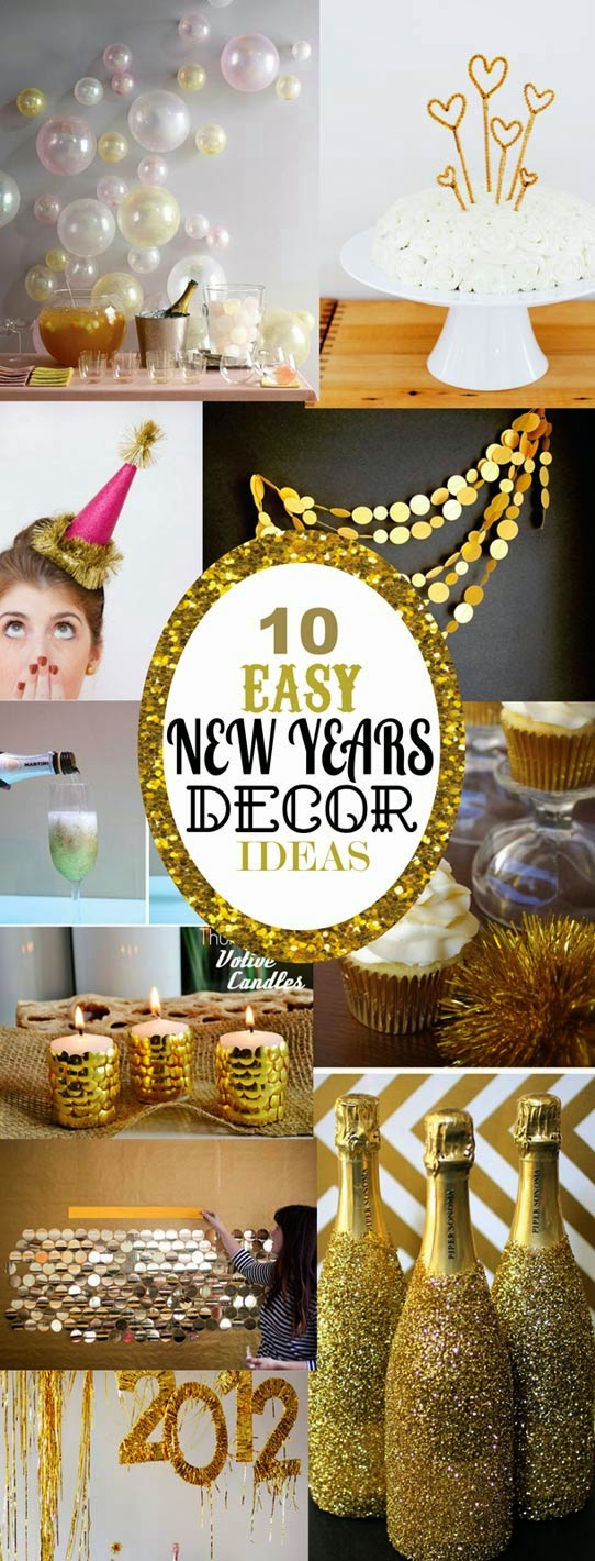 A glimpse inside 150 new year 39 s eve party ideas for New year eve party ideas
