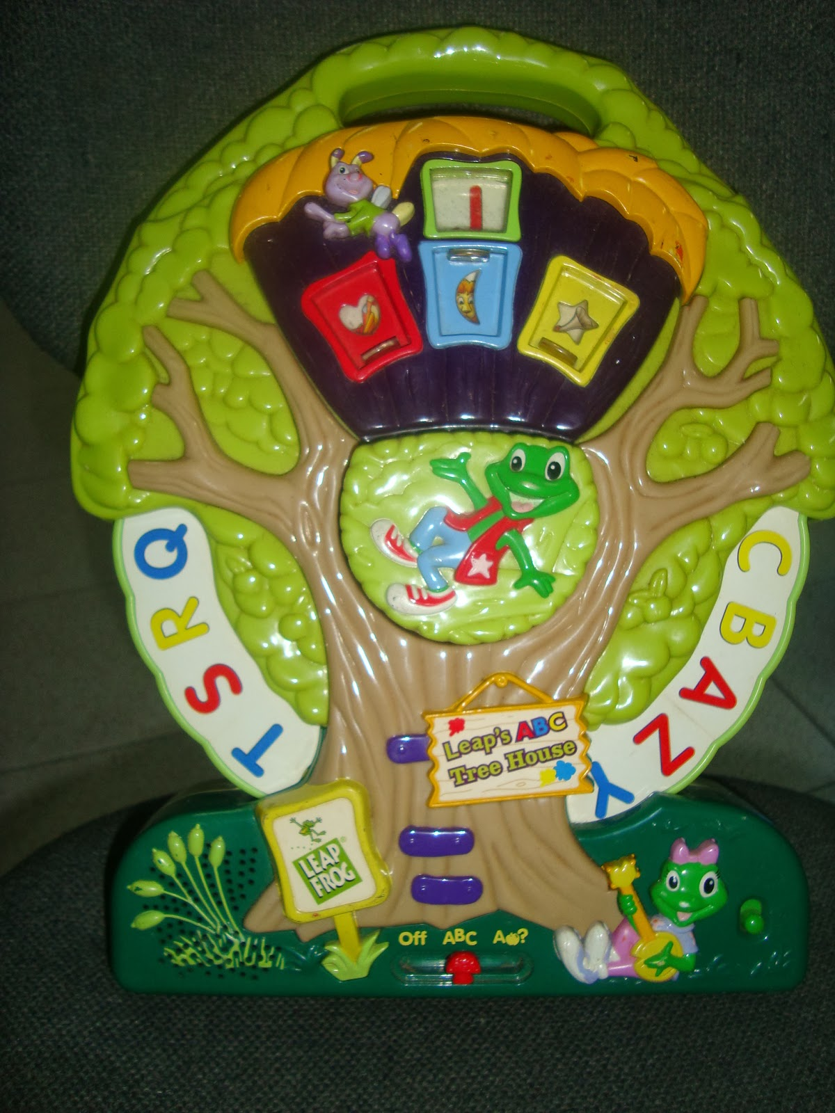 mommyslove4baby143  leapfrog abc tree house like new 649p sold