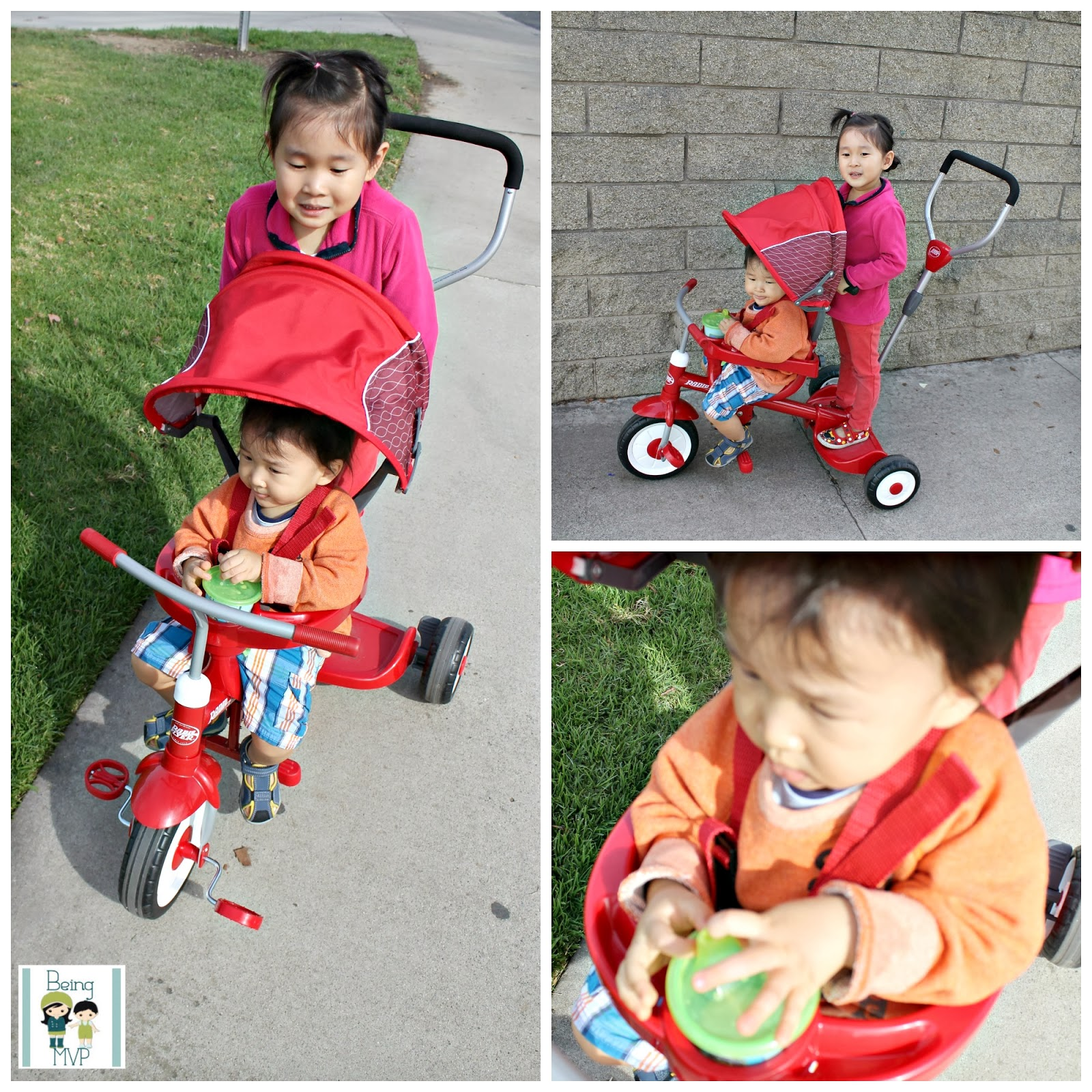 radio flyer ride and stand stroll n trike instructions