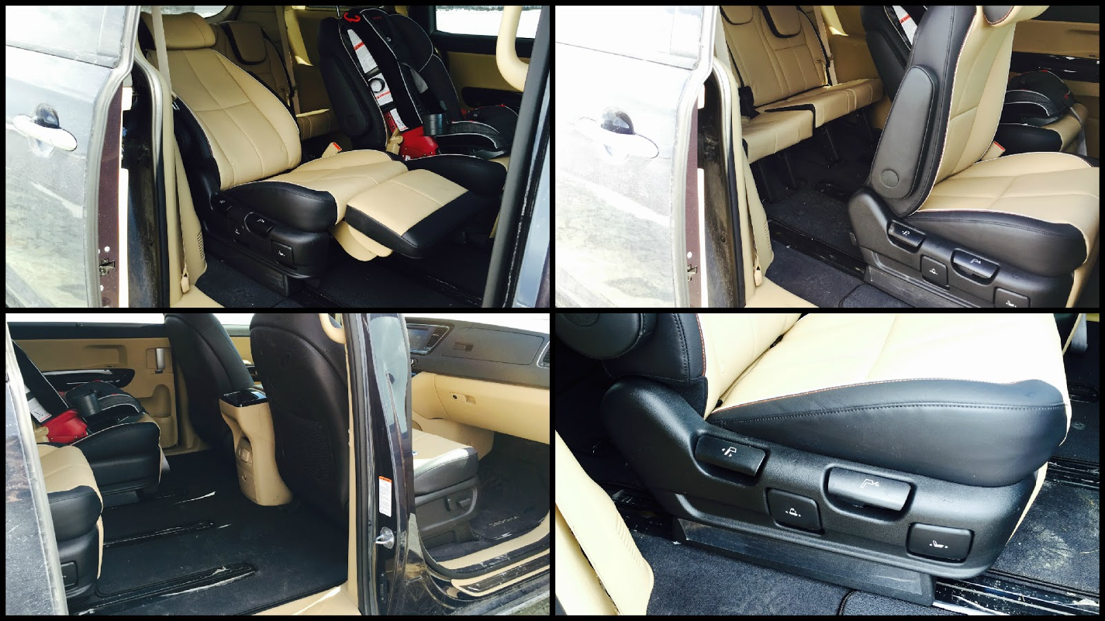 2015 Kia Sedona SXL+ lounge seat