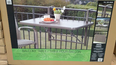 Andersen & Stokke Dante Folding Space Balcony Table to enjoy outside but save space