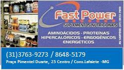 Fast Power Suplementos Nutricionais