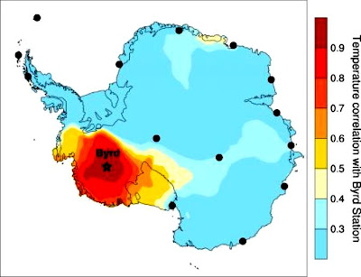 Study shows rapid warming on west Antarctic ice sheet