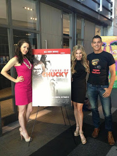 heres a first look of the cast on curse of chucky screening  Curse Of Chucky Cast