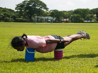 Planking on the Field