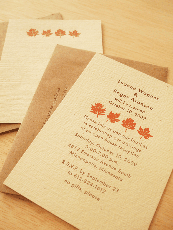 fall autumn wedding invitations cheap fall wedding