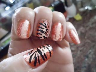 manicura tigre