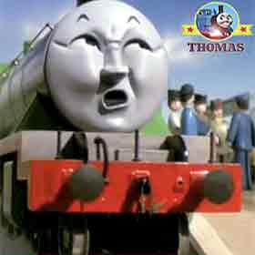 Ready to restart a voyage Thomas the tank engine Henry the train has plenty of ashes said the driver