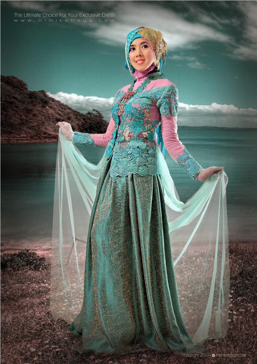 Contoh Kebaya Modern Jilbab untuk Pesta