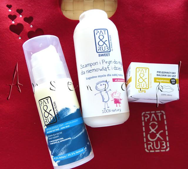 Pat&Rub Sweet: Szampon i płyn do mycia dla niemowląt, dzieci i Oli :D