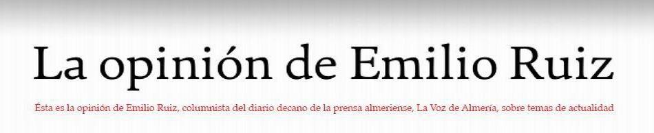 La opinión de Emilio Ruiz