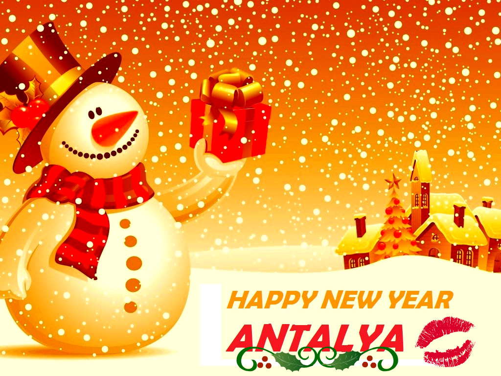 New Year Cards For Antalya Antalya City Blog
