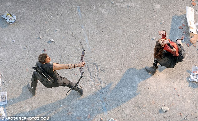 Example Of A Birds Eye View Shot From The Film Avengers