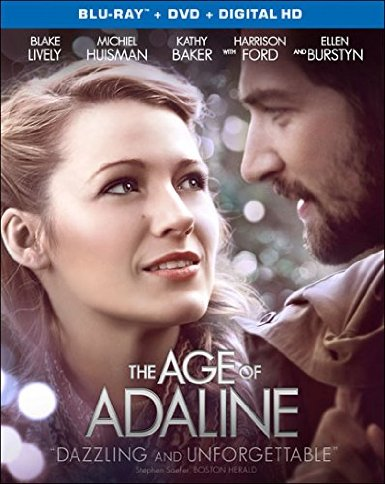 The Age of Adaline (2015) Blu-ray + Digital HD Romance Movies