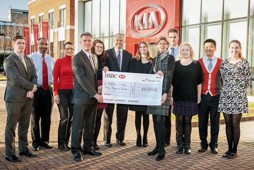 Kia Motors Uk Raises 40 000 For Walton Charity