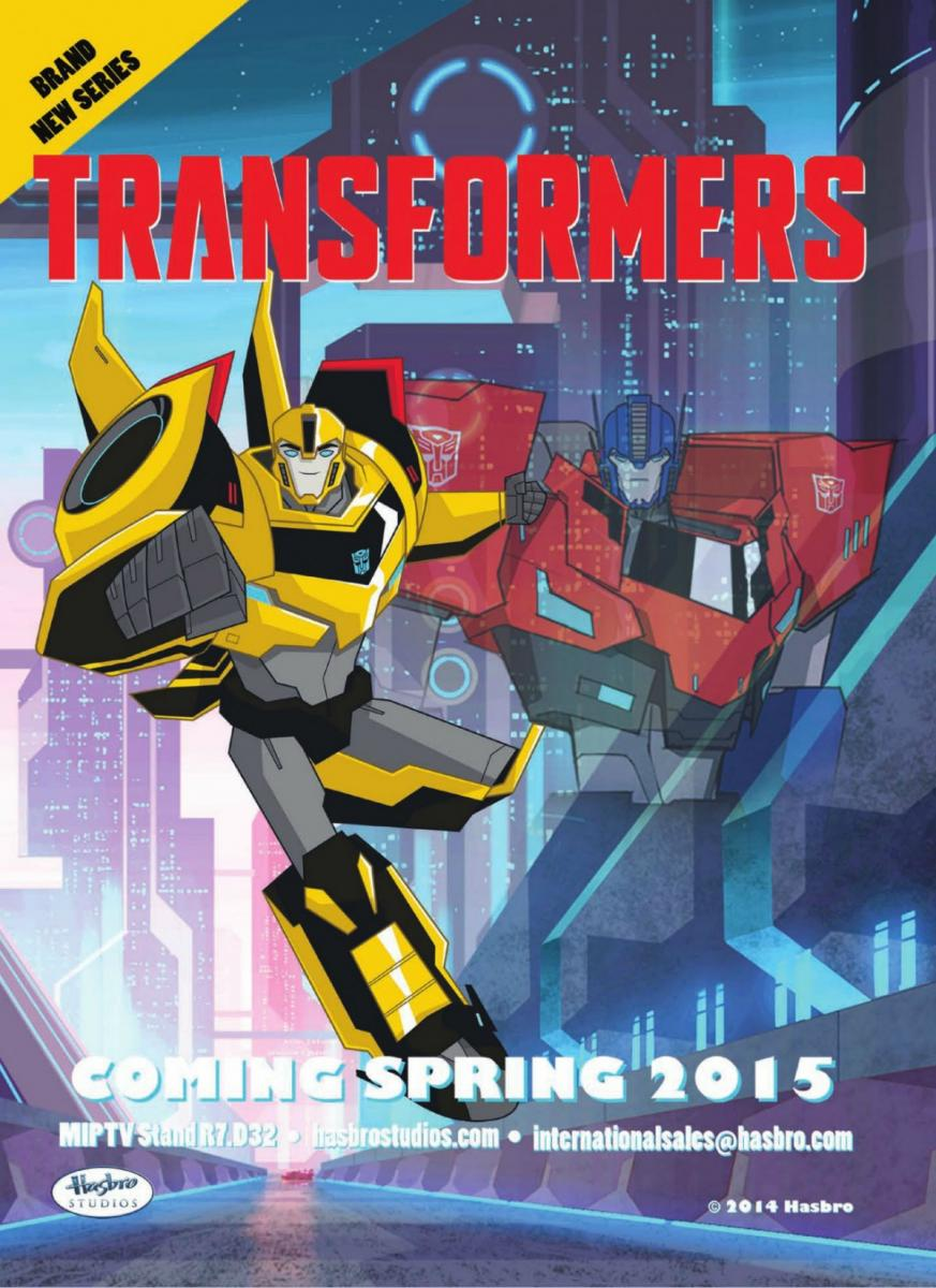 Transformers: Robots in Disguise Temporada 2 audio español