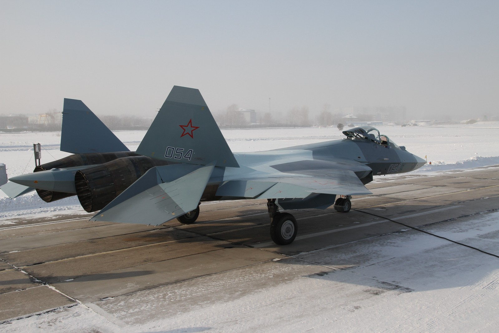 russie T-50+054+ZHUKOVSKII+17-01-2013+2