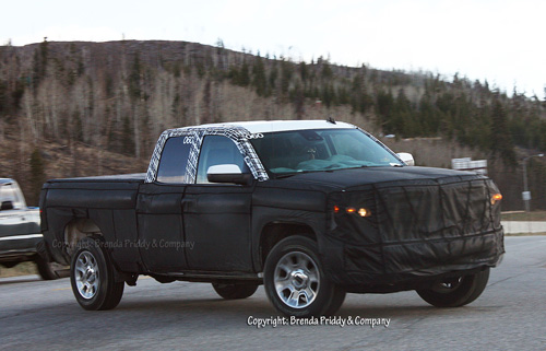 2014 Chevrolet Silverado spy photos, it turns really ~ Garage Car