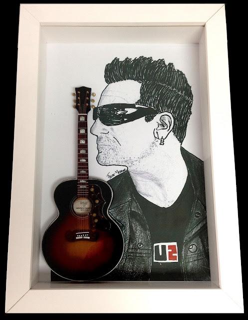 violão U2 Bono Vox