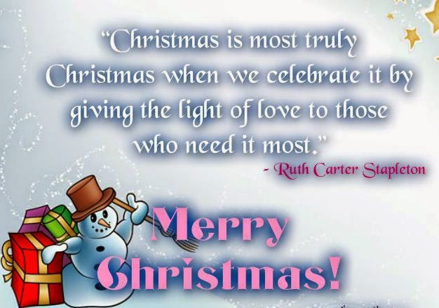Merry Christmas wishes quote