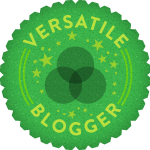 "Premio ""The Versatile Blogger""."