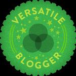 "Premio ""The Versatile Blogger""."