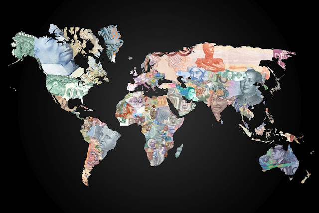 Currency World Map