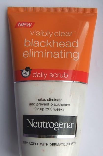 how to use neutrogena deep clean blackhead eliminating daily scrub